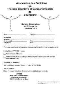 colloque APTCCB bulletin d'inscription