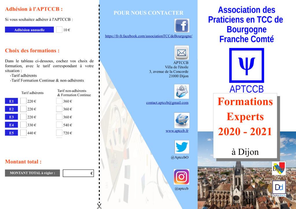 flyer Ateliers APTCCB 2020-2021 page 1 sur 2
